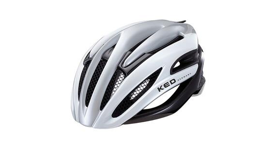 KED Wayron Helmet silver white black